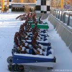 Winter Scenes - Top Thrill Dragster Midway